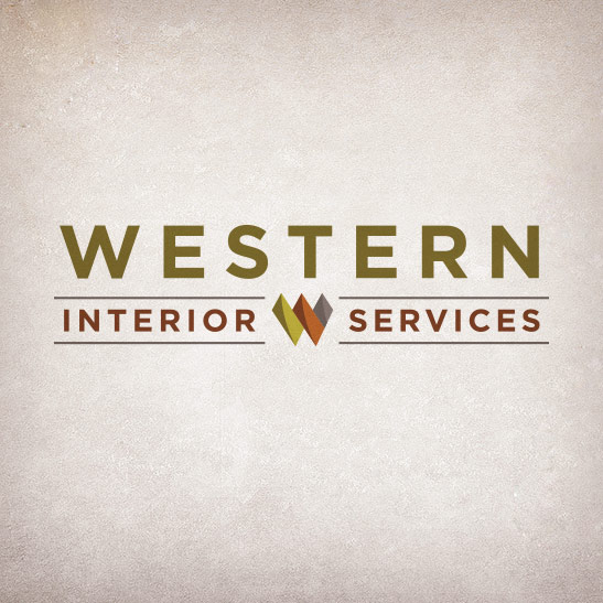 Western Interior Services logo design
